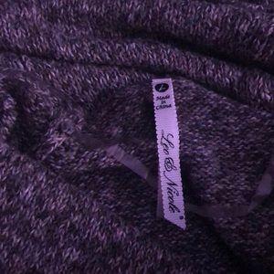 Leo and Nicole Poncho Sweater (Stitch Fix)